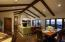 A great room / dining room with great entertaining potential!