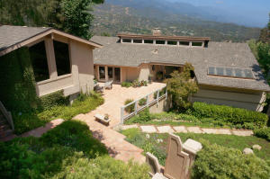 This home has ocean and mountain views from most of the main living areas.