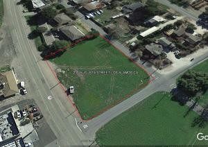LOS ALAMOS CA. BELL STREET Commercial Zoned Property In the Old West Town of Los Alamos CA.
