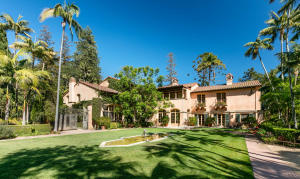 This elegant Mediterranean estate celebrates the finest Montecito lifestyle with masterful architecture and exquisite entertaining spaces enveloped in a magical setting beneath majestic mountain views.