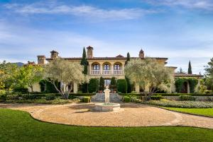 Exquisite Mediterranean Estate on 2 Acres