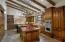 Gourmet Kitchen with La Cornue Range, 2 SubZero Refrigerator/Freezers, 2 Refrigerator Drawers & 3 Dishwashers