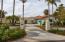 Palms and a Circular Driveway