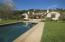 pool, rear home view