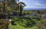 Ocean view from pool terrace lawn