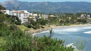 Shoreline Condominiums located across the street from Leadbetter Beach. Wonderful location!