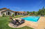 photo from previous listing. Pool now has a security fence.
