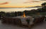 2nd story deck overlooking islands and harbor by fire pit