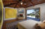 Master bed suite, fireplace, door disappear into walls to garden and ocean