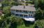Aerial view from back of house.