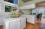 Kitchen open to Breakfast Area