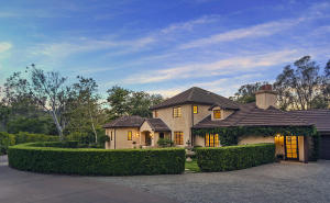 Nestled in a private enclave of 3 custom homes, yet part of Montecito's most approachable neighborhood