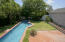 Lap pool view from deck