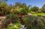 Babbling brook with bridge