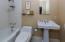 Guest house en suite master bathroom