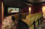 12 ft wide screen and 4k projector