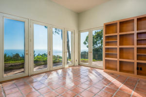 Library with Ocean View
