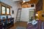 Adjacent Bedroom With Loft & French Doors