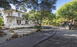 Situated on .89 acres in the Mission Canyon neighborhood of Santa Barbara County, yet close to the Mission and downtown shopping