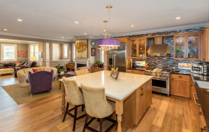 Chef's Dream Kitchen - open to living room family room and dining room