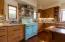 Copper Sinks & vintage O'Keeffe & Merritt stove