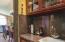 The butler's pantry/bar.