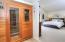 Infrared Sauna in Master Bath