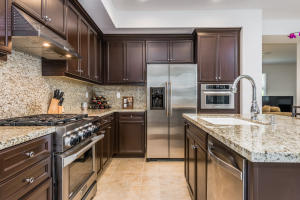 Granite countertops, stainless steel appliances, all this chef's kitchen needs is a chef!