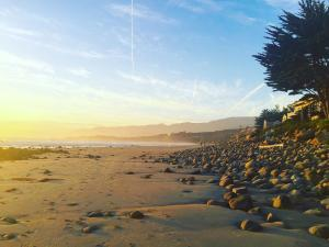 """""""The Queen of The Coast"""" - Rincon Point is a famous for its world class waves, beautiful beach, and exclusive/gated neighborhood with beach access."""