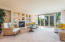 Bright, open living area welcomes you home!