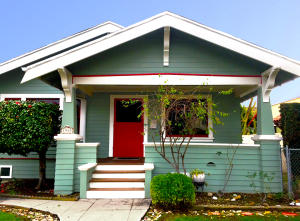 Charming 1916 Craftsman with a lovely welcoming front porch
