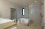 Walk-in shower + soaking tub!