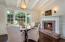 Kitchen Fireside Breakfast Area