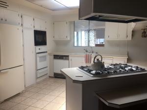 Large kitchen-flows easily