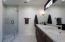 2nd Master Bath w/ Carrara marble throughout