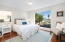 Master bedroom with view of Shoreline Park and Pacific