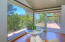 mountain view deck off master bedroom and office wing