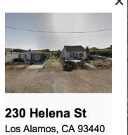 230& 240 Helena St, LOS ALAMOS, CA 93440