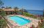 Enormous Pool Terrace at Villa della Costa