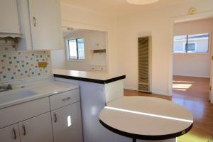 Kitchen to Bedroom/Living Room