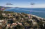 Located just steps from the beach near the new Rosewood Miramar; view of coastline heading toward Ventura