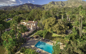 Iconic Montecito estate on 2.8 centrally located fully usable acres.