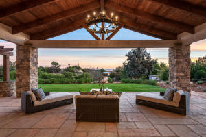 Witness sunrise and sunset from your expansive covered loggia.