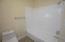 New toilet, tub resurfaced. New floors.