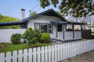 Single-level, 2 BR/2 BA detached home + Duplex with two, 2 BR/2 BA units.