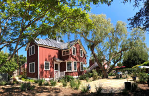 Stately renovated farmhouse is familiar to all who know Santa Barbara
