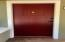 Original 4 foot front door with original color applied! (CHIANTI)