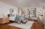 Master Bedroom, 2nd Suite w French doors to Pool & Garden