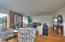 Large living room with newer engineered flooring