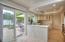 Updated Kitchen with slider to patio